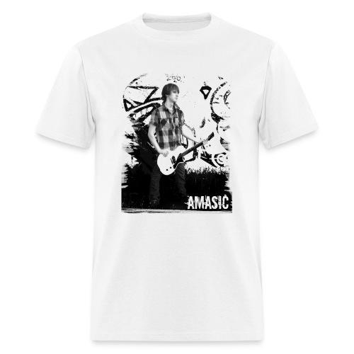 Amasic Black & White - Men's T-Shirt