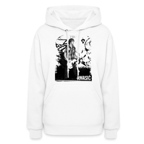 Amasic Black & White - Women's Hoodie