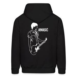 Amasic - Back - Men's Hoodie