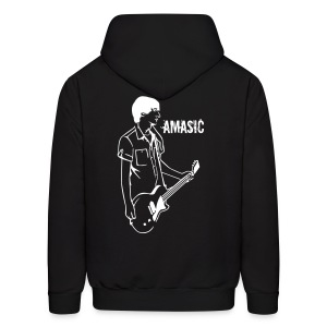 Amasic - Back - Men's Hoodie