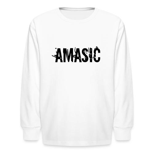 Amasic - Kids' Long Sleeve T-Shirt