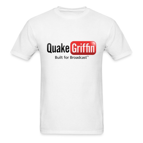 QuakeGriffin - Built for Broadcast - Men's T-Shirt