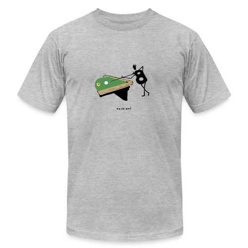 Billiards - rack'em! - Men's Fine Jersey T-Shirt