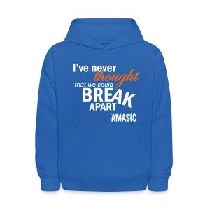 Break Apart - Kids' Hoodie