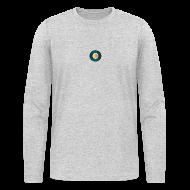 Long Sleeve Shirts ~ Men's Long Sleeve T-Shirt by Next Level ~ DrishT (TM) Longsleeve (Gray)