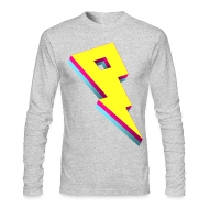 Long Sleeve Shirts ~ Men's Long Sleeve T-Shirt by Next Level ~ Pandoric American Apparel Long Sleeve