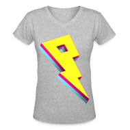 Women's T-Shirts ~ Women's V-Neck T-Shirt ~ Pandoric Women's V-Neck