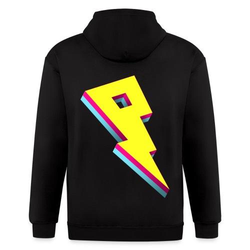 Pandoric Fleece Hoodie (Back Logo) - Men's Zip Hoodie