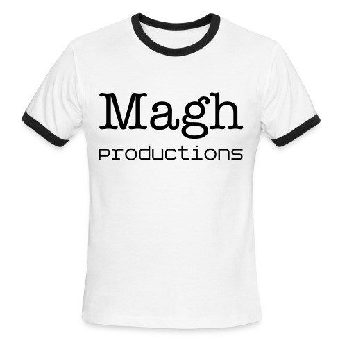 Simple Magh Productions Shirt - Men's Ringer T-Shirt