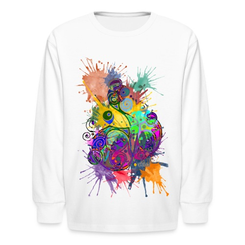 Color Lost - Kids' Long Sleeve T-Shirt