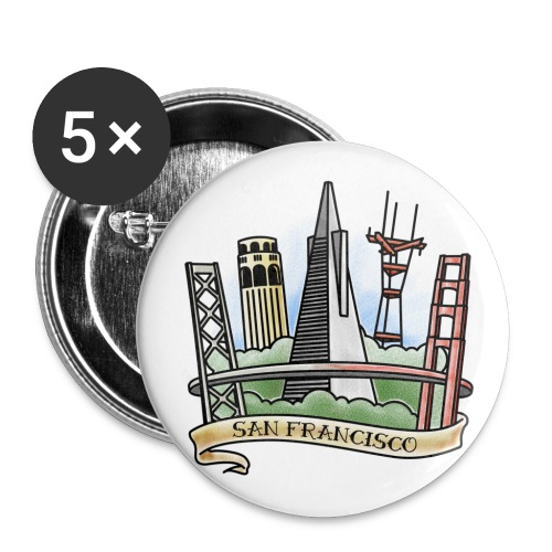 Cali Love - Large Buttons