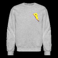 Long Sleeve Shirts ~ Crewneck Sweatshirt ~ Smaller Logo - Crew Neck