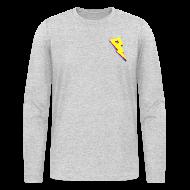 Long Sleeve Shirts ~ Men's Long Sleeve T-Shirt by American Apparel ~ Smaller Logo - Long Sleeve