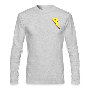 Smaller Logo - Long Sleeve - Men's Long Sleeve T-Shirt by Next Level