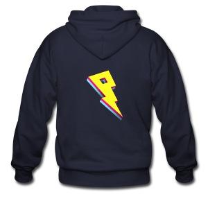 Smaller Logo - Fleece Jacket - Men's Zip Hoodie