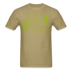 Reduce Reuse Recycle - Men's T-Shirt