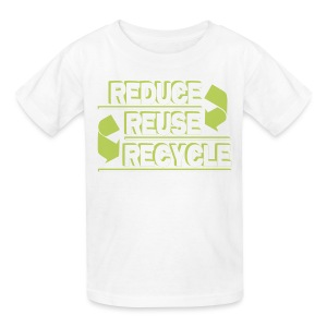 Reduce Reuse Recycle - Kids' T-Shirt