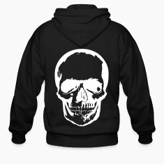 Skull dark Zip Hoodies/Jackets