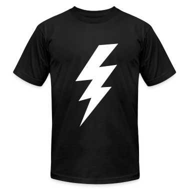 thunder lightning bolt flash T-Shirts