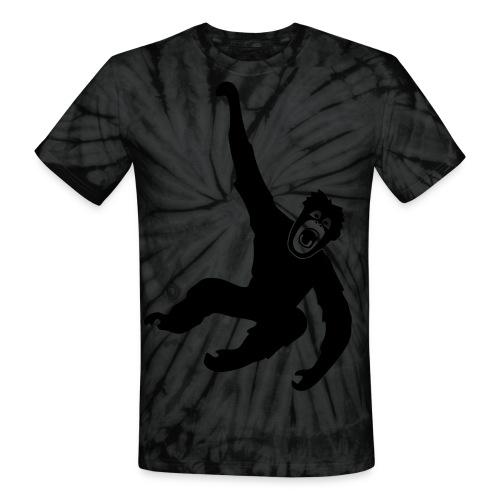 animal t-shirt gorilla ape monkey king kong godzilla silver back orang utan chimp T-Shirts - Unisex Tie Dye T-Shirt