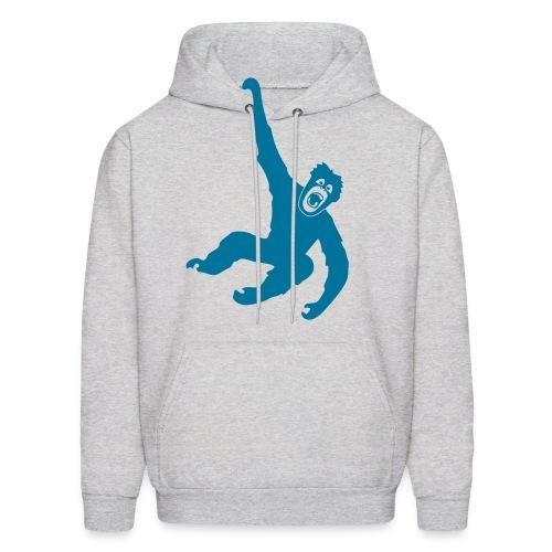 animal t-shirt gorilla ape monkey king kong godzilla silver back orang utan chimp T-Shirts - Men's Hoodie