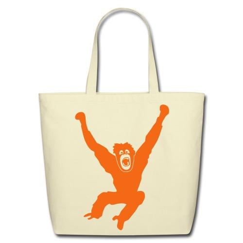 animal t-shirt gorilla ape monkey king kong godzilla silver back orang utan T-Shirts - Eco-Friendly Cotton Tote