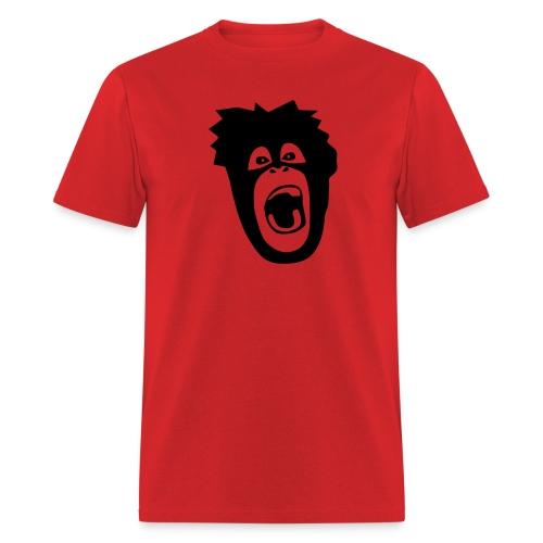 animal t-shirt gorilla ape monkey king kong godzilla silver back orang utan T-Shirts - Men's T-Shirt