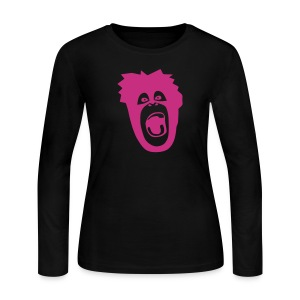 animal t-shirt gorilla ape monkey king kong godzilla silver back orang utan T-Shirts - Women's Long Sleeve Jersey T-Shirt