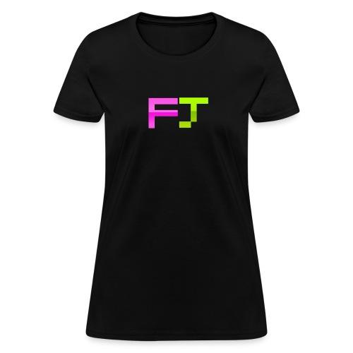 FJ Pixel Logo - Women's T-Shirt