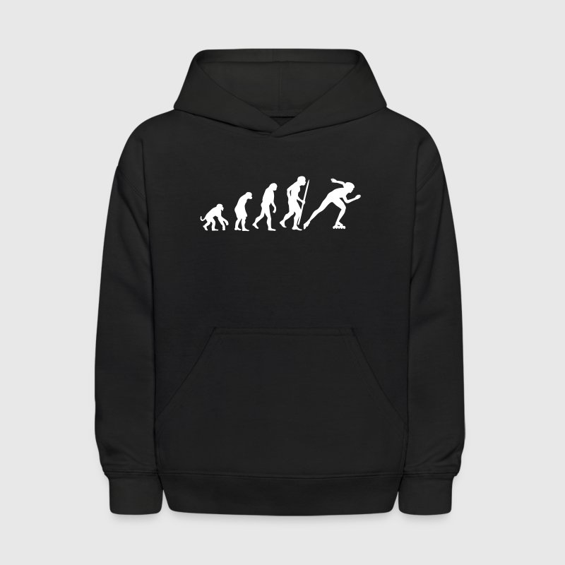 Evolution of inline speed skating  Sweatshirts - Kids' Hoodie
