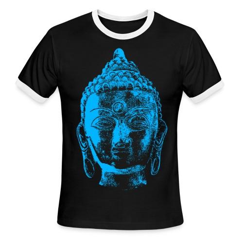 Buddha Head 1 - Men's Ringer T-Shirt