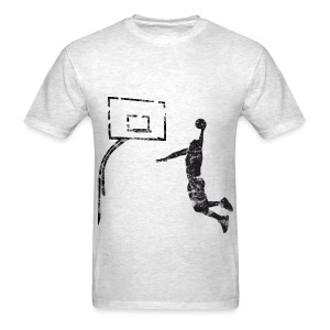 SMASHED  Vintage SLAM Dunk Really Crisp Fun Graphic - Men's T-Shirt