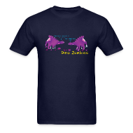 T-Shirts ~ Men's T-Shirt ~ Dino Zombies