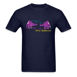 Dino Zombies - Men's T-Shirt