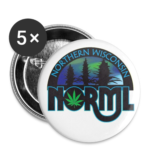Wisconsin NORML 1 Support Button - Small Buttons