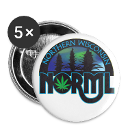 Buttons ~ Large Buttons ~ Northern Wisconsin NORML 2 1/4