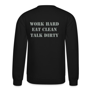 Crewneck Sweatshirt - PLAIN on front