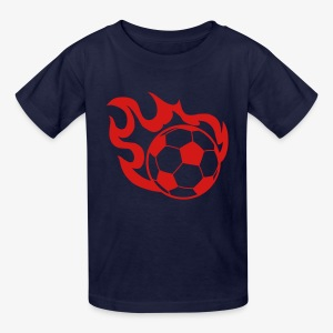 SMASH Speeding Soccer Ball Children's Tee Shirt on SALE - Kids' T-Shirt
