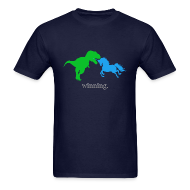 T-Shirts ~ Men's T-Shirt ~ Unicorn Winning