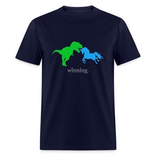 Unicorn Winning - Men's T-Shirt