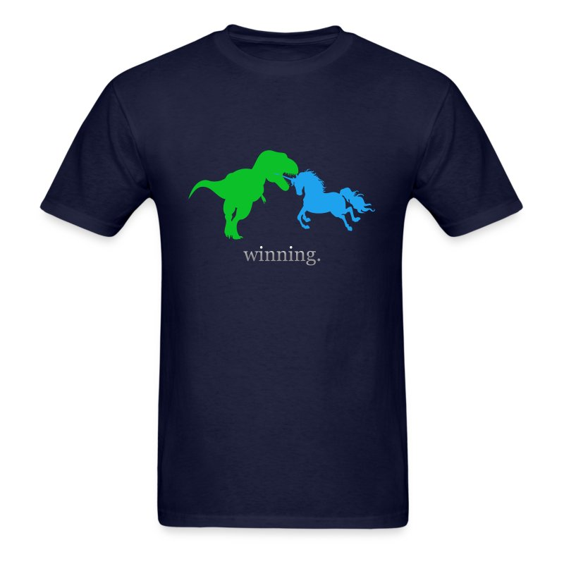 Unicorn Winning - Men's T-Shirt