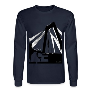 The Bridge - Men's Long Sleeve T-Shirt