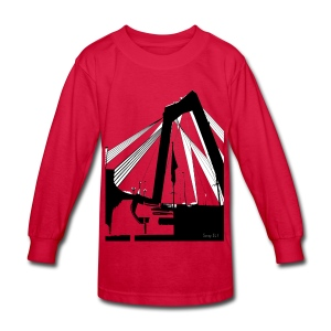 The Bridge - Kids' Long Sleeve T-Shirt