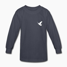1 color - Dove Birds Flying Peace Freedom Nature Kids' Shirts