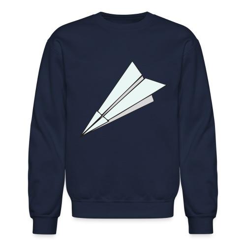 Paper Plane Crewneck - Crewneck Sweatshirt