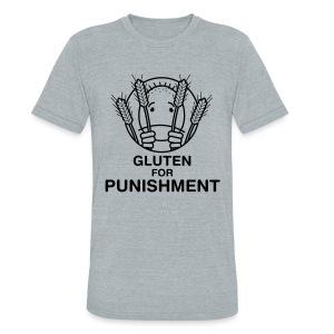Gluten for Punishment. [Men's Vintage AA] - Unisex Tri-Blend T-Shirt