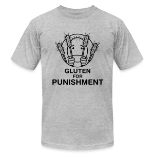 Gluten for Punishment. [Men's AA] - Men's T-Shirt by American Apparel