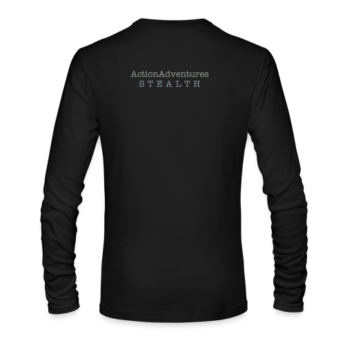 Below Product is Back Print Only - Men's Long Sleeve T-Shirt by Next Level