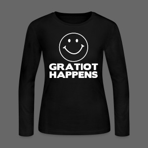 Gratiot Happens - Women's Long Sleeve Jersey T-Shirt
