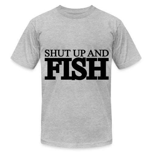 Dad (Fish) - Men's Fine Jersey T-Shirt